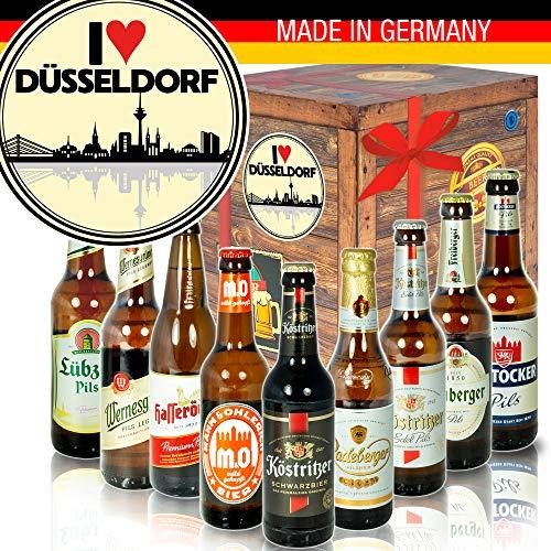 I love Düsseldorf - mit Ostdeutschen Bieren - Geburtstagsüberraschung Duisburg