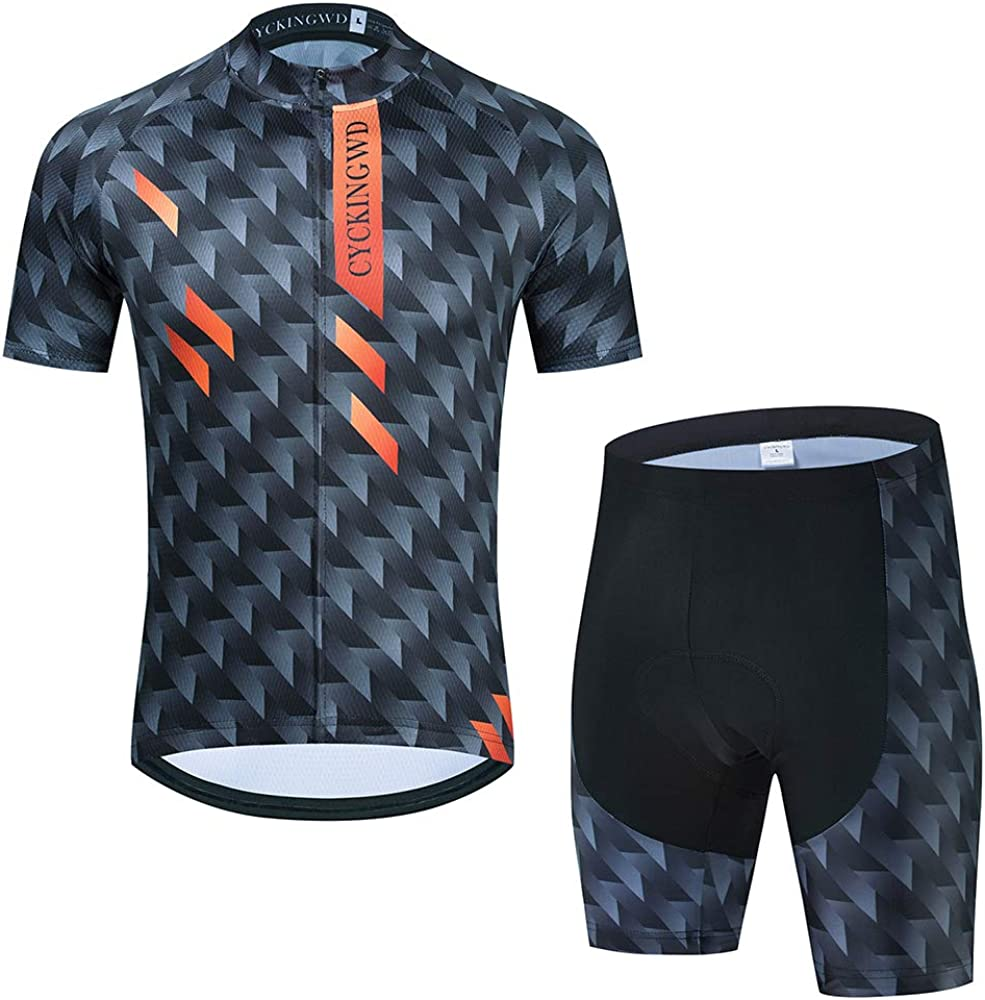 Mesa Mall Ranking TOP2 Men's Cycling Jersey Set Biking Sleeve Bicycle Short Clothes