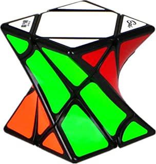 CuberSpeed Qiyi Twisty skewb Black Speed Cube Twist skewb Puzzle