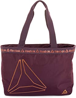 Reebok Waterproof Tote Bag for Women with Zipper, for Gym, Travel, Beach