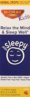 Sleep Support Herbal Supplement for Kids by Bioray | NDF Sleepy Calms the Body and Spirit, Relaxes the Mind, Decreases the...