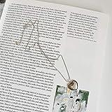 HHWW Love Gloss Necklace Artículo Drop Sadling Chain