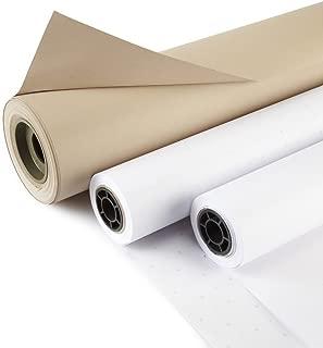 10 Yards Of Manila Pattern Paper + 10 Yards of Alphanumeric Marking Paper EconoPak