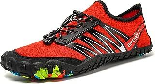 Padcod Unisex Summer Water Shoes Water Sport Barefoot Quick Dry Slip-on Lightweight Sneaker Outdoor Athletic Kayaking Boating Swim Dive Socks for Women Men