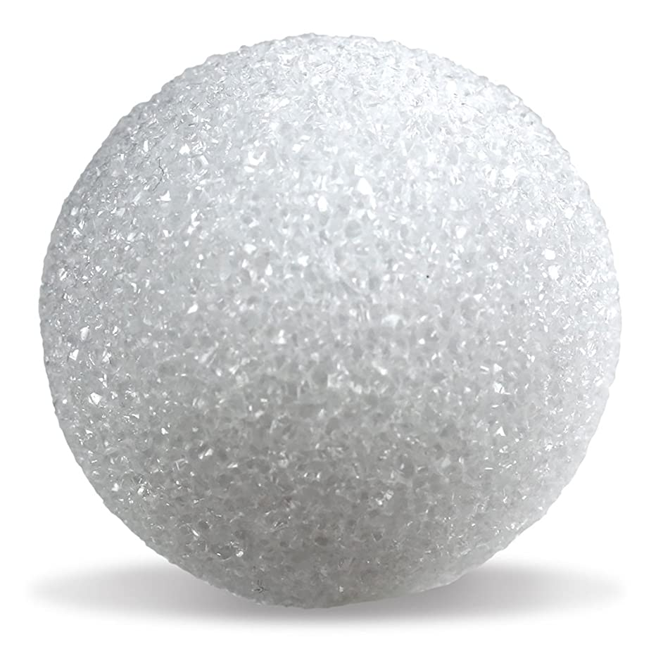 Hygloss Products White Styrofoam Balls for Arts and Crafts – 2.5 Inch, 100 Pack