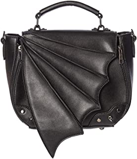 Black Bat Wing Gothic Alternative Handbag
