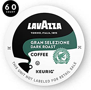 Lavazza Gran Selezione Single-Serve Coffee K-Cups for Keurig Brewer, Dark Roast, 10-Count Boxes (Pack of 6)