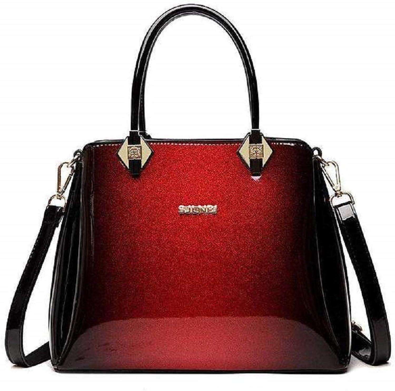 BagPrime Luxury Patent Leather Shoulder Bag Fashion Girls Handbags Leather Shoulder Bag Hobo Handbag