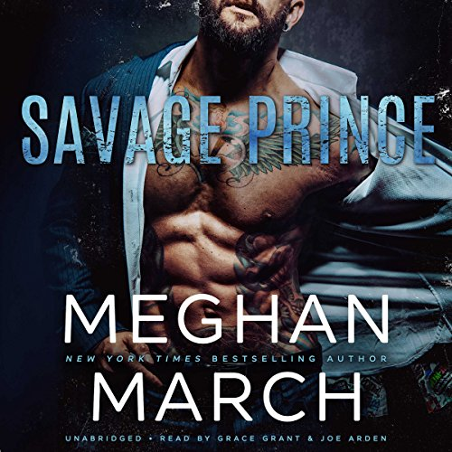 Savage Prince audiobook cover art