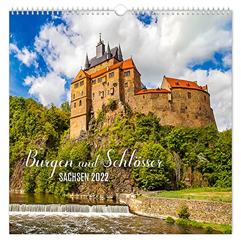 Kalender Burgen und Schlösser Sachsen 2022   30 x 30 cm