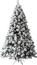 Kerstboom kunstmatige Vakantie Decor Xmas Bomen Kunstmatige Pine Kerstboom Premium Flocked Scharnierend 1600 Tips in Metal...