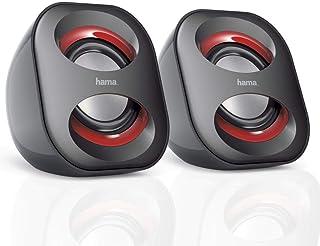 Hama Sonic Mobil 183 00173131 Głośnik do Notebooka Czarny/Czerwony
