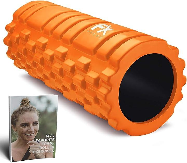 Foam roller - rullo in schiuma massaggiatore eccellente per l`auto massaggio ffexs B078LQ35X1