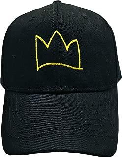 Crown Hat Dad Hat Embroidered Baseball Cap Adjustable Cotton for Men Women