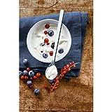 WMF Nuova Joghurtlöffel Set, 2-teilig, Löffel, lang, Latte Macchiato, spülmaschinengeeignet, L 19 cm, Cromargan Edelstahl poliert - 3