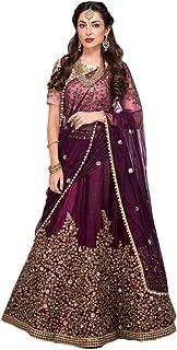 REKHA Ethnic Shop Designer Lehenga Choli Party Wear Lehenga Choli Bridal Lehenga Choli Wedding Lehenga 07 Purple