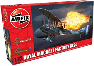 Airfix Royal Aircraft Factory BE2c Night Fighter 1:72 Military Plastic Model Kit