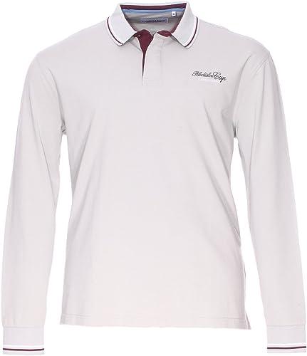 CAMBERABERO Soldes Polos Grande Taille gris Coton