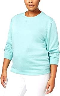 Womens Plus Fitness Activewear Sweatshirt