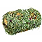 Small Pet Treat Toy Hay Bale With Flowermix
