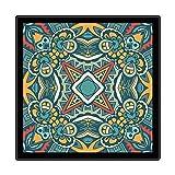 Alfombra Moderna para Salón, Patrón Geométrico Amarillo Verde Negro, Alfombra De Salón Moderna, Alfombras Mullidas de Interior Súper Suaves y Mullidas para Salón Dormitorio, 160 x 230 cm