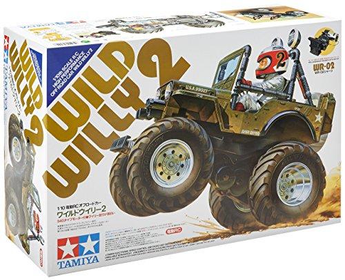 Tamiya 300058242 - Modellino RC Wild Willy 2000, Scala 1:10