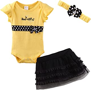 Cute Baby Girl Outfits with Headbands