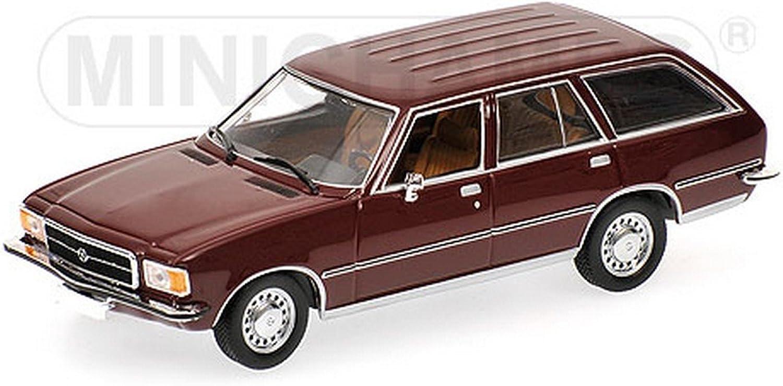 Minichamps PM400044012 OPEL Rekord D Caravan 1975 braun 1 43 MODELLINO DIE CAST B0727LWWKD Vielfalt    | Zu einem erschwinglichen Preis