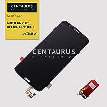 CENTAURUS Replacement for Motorola Moto G6 Plus XT1926-1 XT1926-2 XT1926-3 XT1926-5 XT1926-6 XT1926-7 XT1926-9 5.9 inch Assembly LCD Display Touch Screen Digitizer Glass (Black- NO Frame)