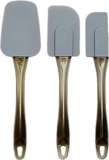 Amazon Basics Lot de 3 spatules en silicone