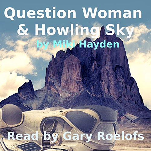 Question Woman & Howling Sky audiobook cover art