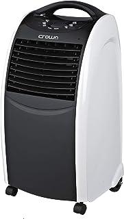 Crownline Floor Air Cooler, Black - 400M3/H - AC-185, 1 Year Warranty