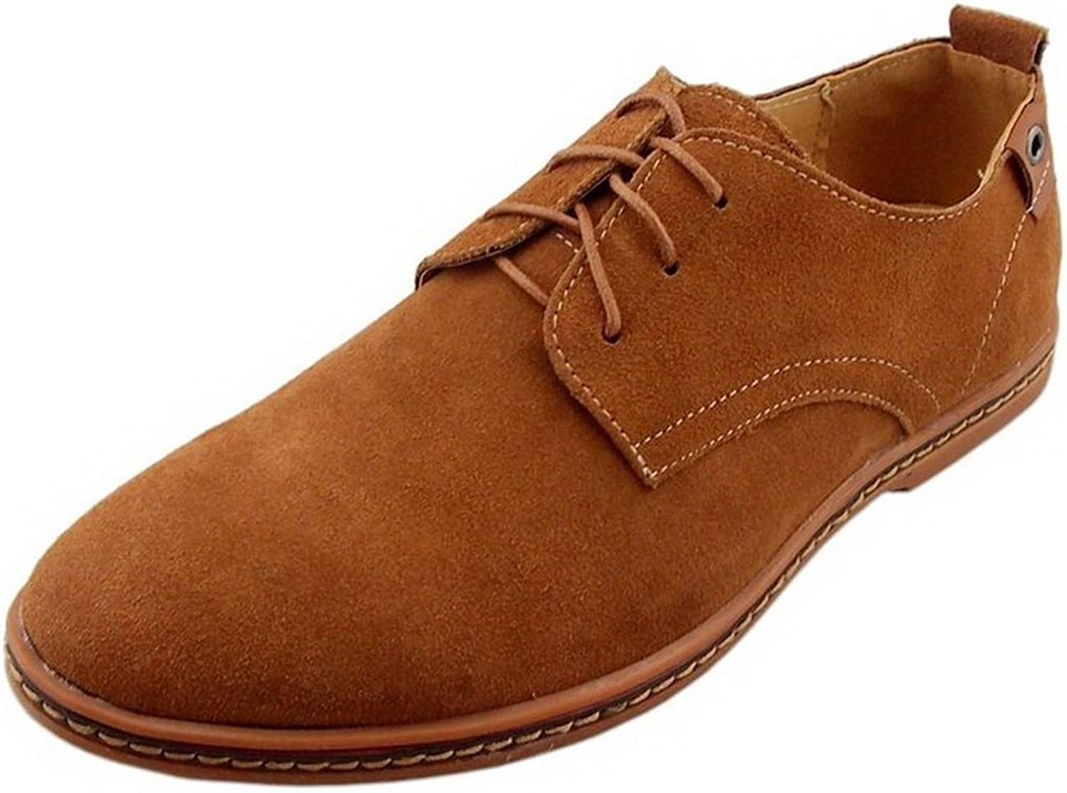 TOOSBUY Men's Canvas Oxford Casual shoes