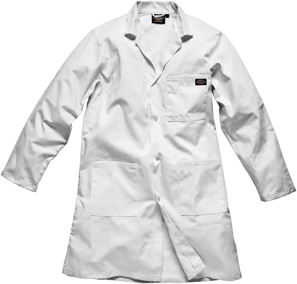 Dickies Redhawk Warehouse Coat/Mens Workwear (XXL) (White)