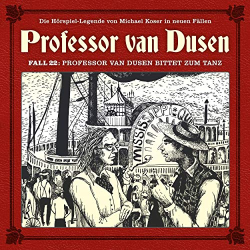 Couverture de Professor van Dusen bittet zum Tanz