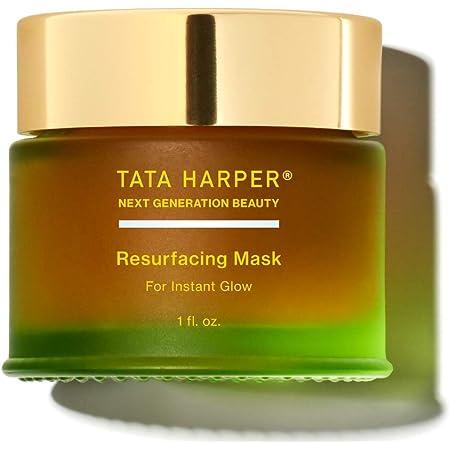 Tata Harper Resurfacing Mask, Best-Selling Brightening Mask, 100% Natural, Made Fresh in Vermont, 30ml