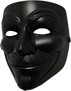 Best black guy fawkes mask Reviews