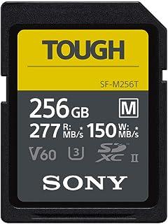 Sony TOUGH-M series SDXC UHS-II Card 256GB, V60, CL10,...