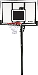 how to make a portable basketball hoop permanent