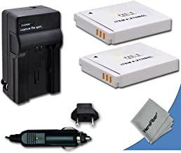 2 Canon NB-6L / NB-6LH Batteries Replacement by Xit with AC/DC Quick Charger Kit for Canon PowerShot SX170 is Digital Camera