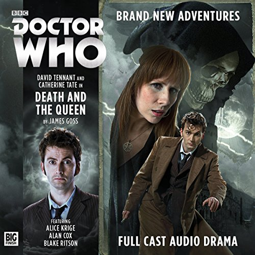 Page de couverture de Doctor Who - The 10th Doctor Adventures: Death and the Queen