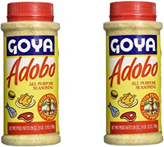 Goya Adobo with Pepper All Purpose Seasoning, 28.0 OZ (Pack of 2)