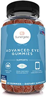 Premium Eye Support Gummies–Lutein Gummies with Zeaxanthin Supports Overall Eye Health, Vision & Macular Health–Clinically...