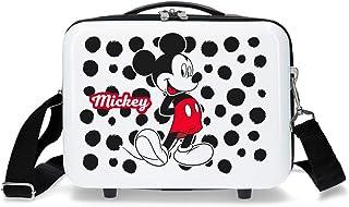 Disney Mickey Enjoy The Day Adaptable Beauty Case White 29x21x15 cm ABS