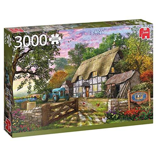 Jumbo 18870 Dominic Davison Das Bauernhaus 3000 Teile Puzzle