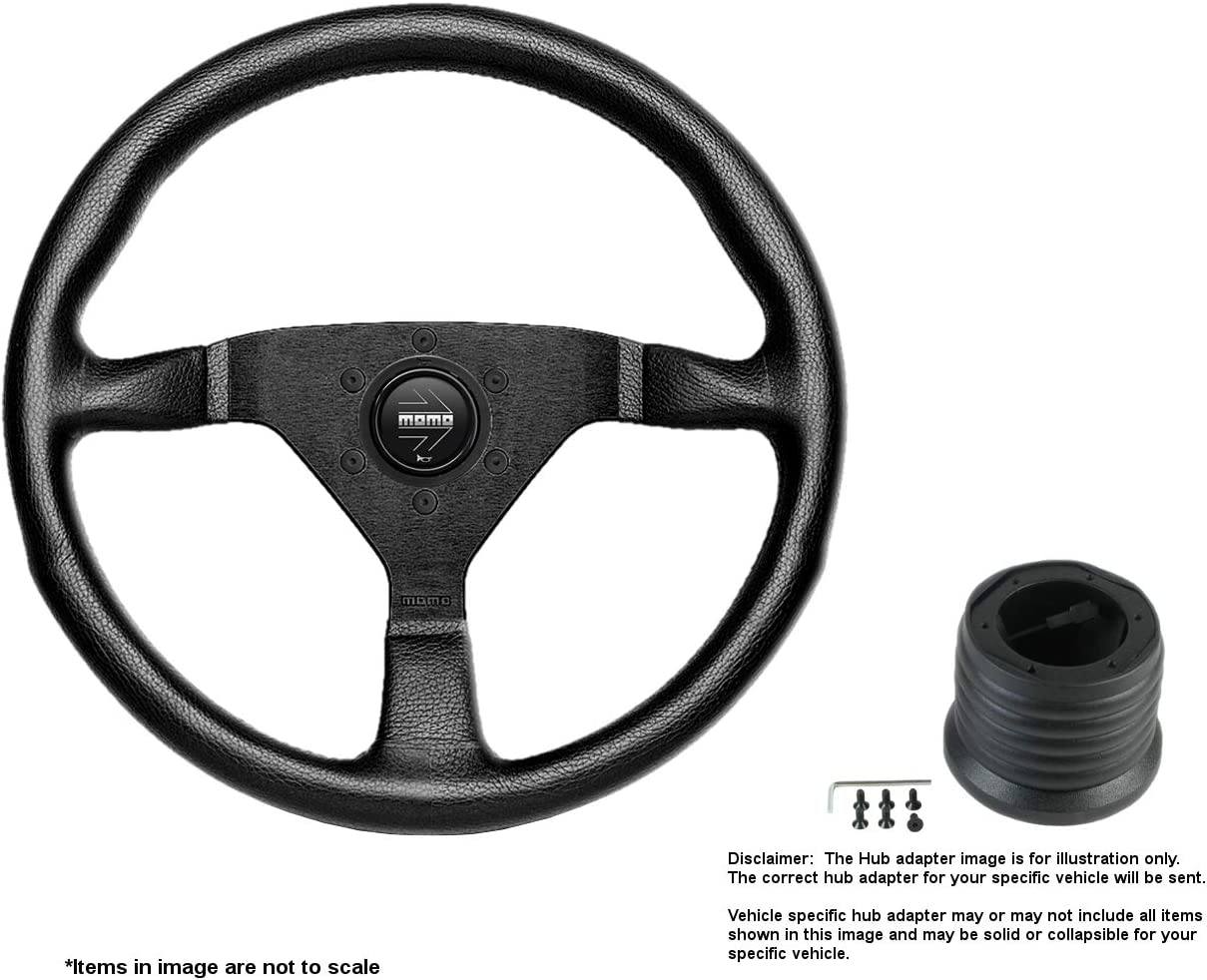 MOMO Montecarlo 350mm 13.78 Limited time sale Inches Br Wheel w Leather Steering Omaha Mall