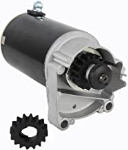 HIGH TORQUE STARTER FITS V TWIN CYLINDER HD BRIGGS & STRATTON 498148 497596 FREE GEAR