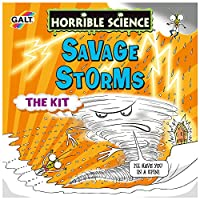 Galt Toys - Horrible Science Savage Storms - Nécessaire à Science pour simuler Un Orage