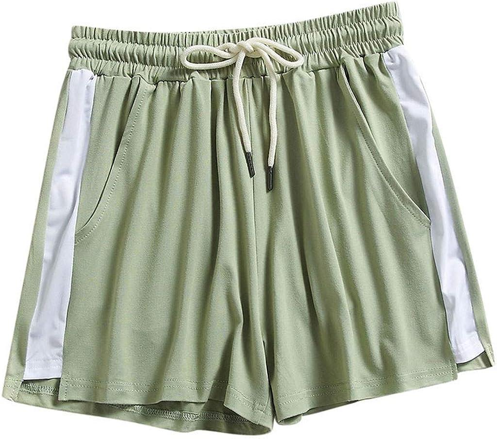 SUNTIN 2021 High Waisted Shorts Women Fashion Women Lady Summer Sport Shorts Beach Short Pants Pants Leggings Trousers