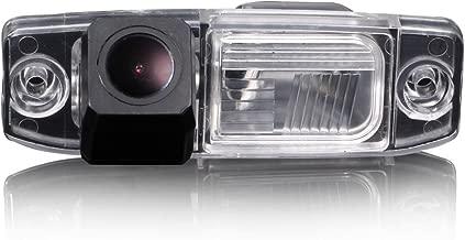 Navinio Waterproof Backup Camera Color Car Rear View Camera 170 Degree Viewing Angle License Plate for Tucson Accent Elantra Terracan Veracruz Sonata/Jeep Chrysler 300/300C/ SRT8 /Magnum/Sebring